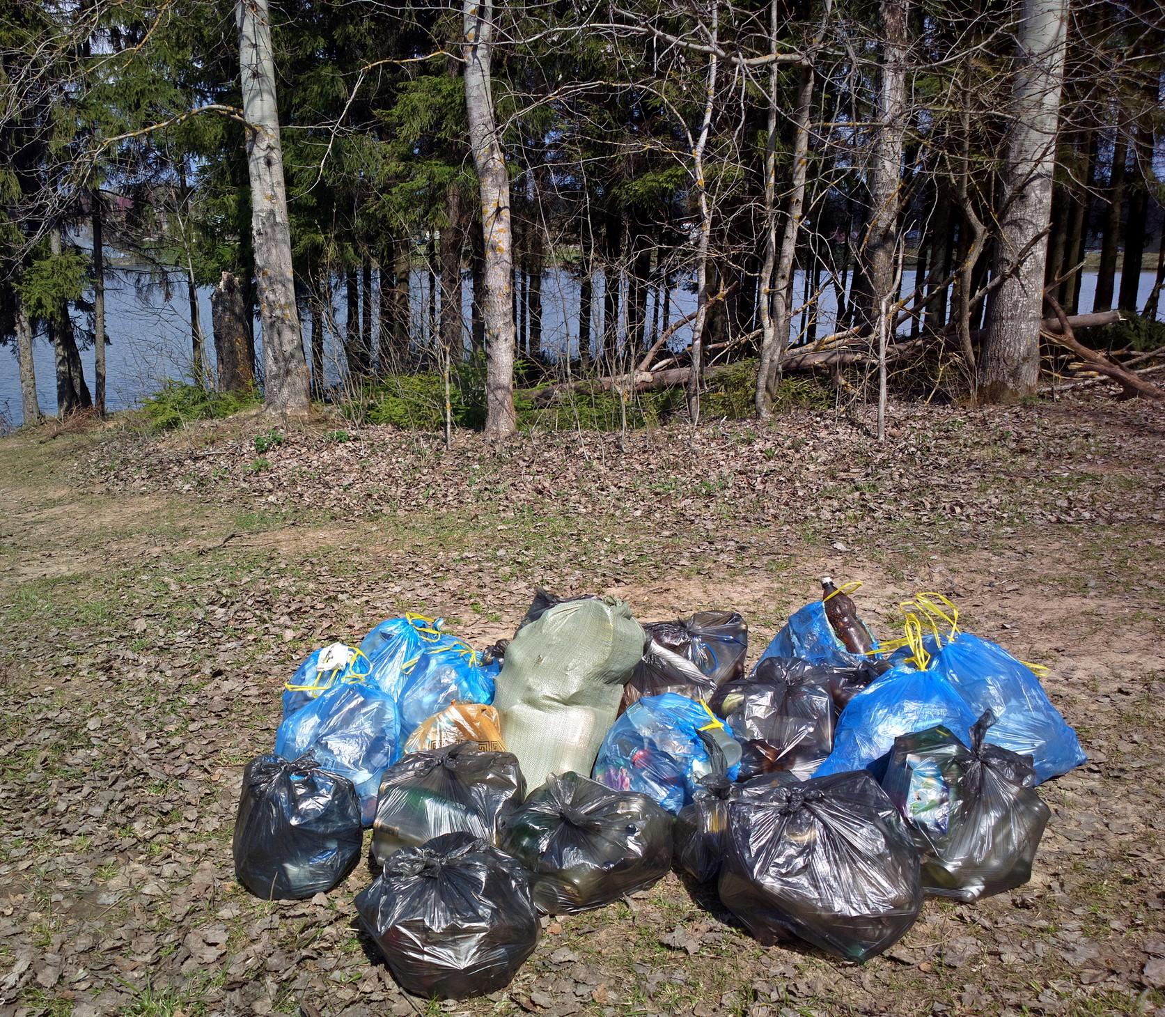 Использование мусорных пакетов